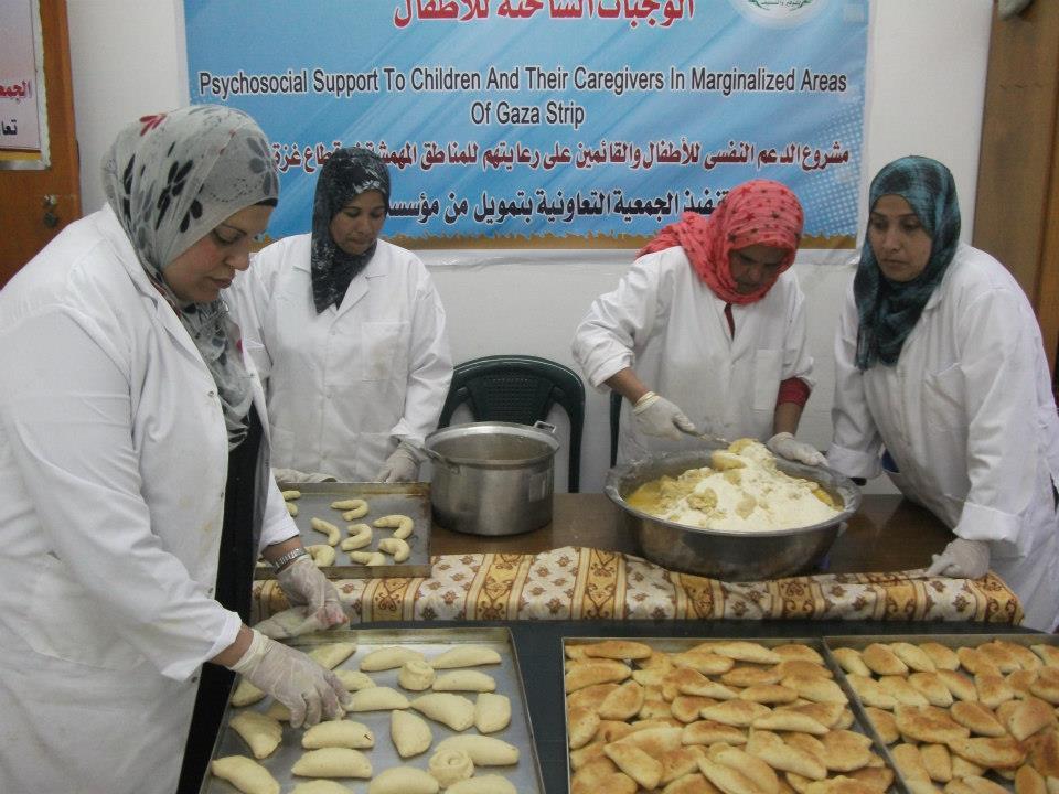 مشروع الدعم النفسي للأطفال في المنطق المهمشة في قطاع غزة 2013
