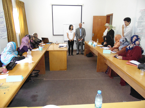 مشروع دعم وتطوير التعاونيات النسوية المنتجة في المناطق الريفية في قطاع غزة,2015