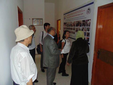 زيارة وفد من مؤسسة جايكا لمقر الجمعية التعاونية للتوفير والتسليف في بيت حانون
