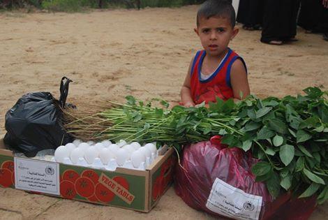 دعم الاسر الفقيرة في شهر رمضان (سلات غذائية ) – 2013