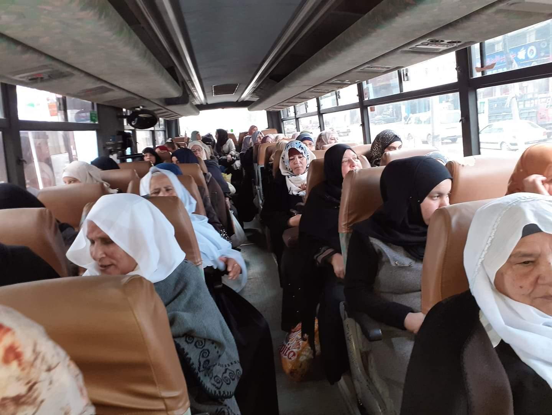 رحلة ترفيهية للنساء بالتعاون مع جمعية عائشة للمرأة والطفل