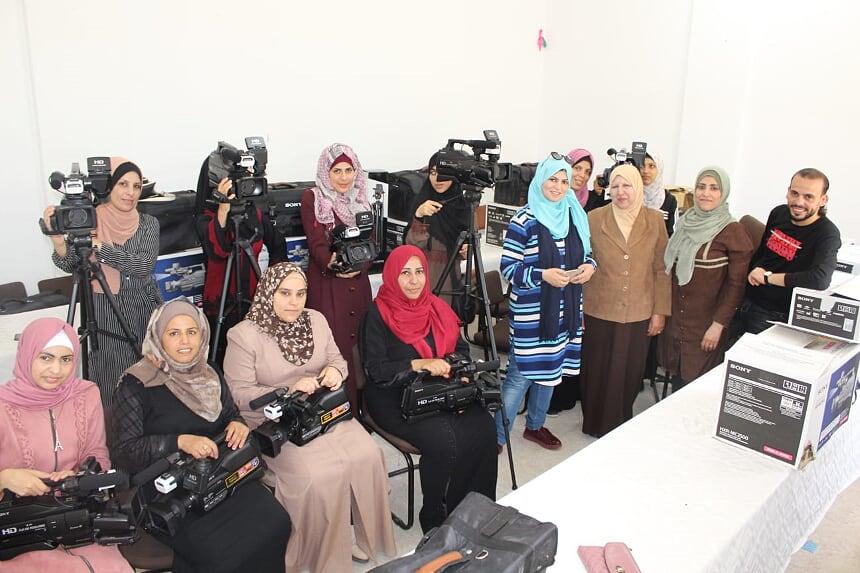 إختتام أنشطة مشروع تمكين المرأة