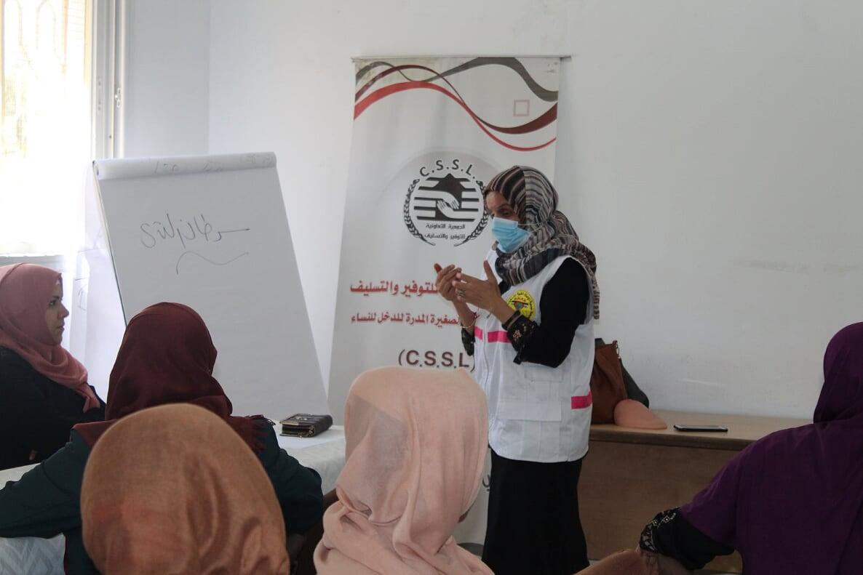الجمعية التعاونية للتوفير والتسليف للمشاريع المدرة لدخل المرأة تنفذ ورش توعوية عن الصحة الجنسية والإنجابية